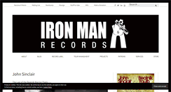 Preview of ironmanrecords.net